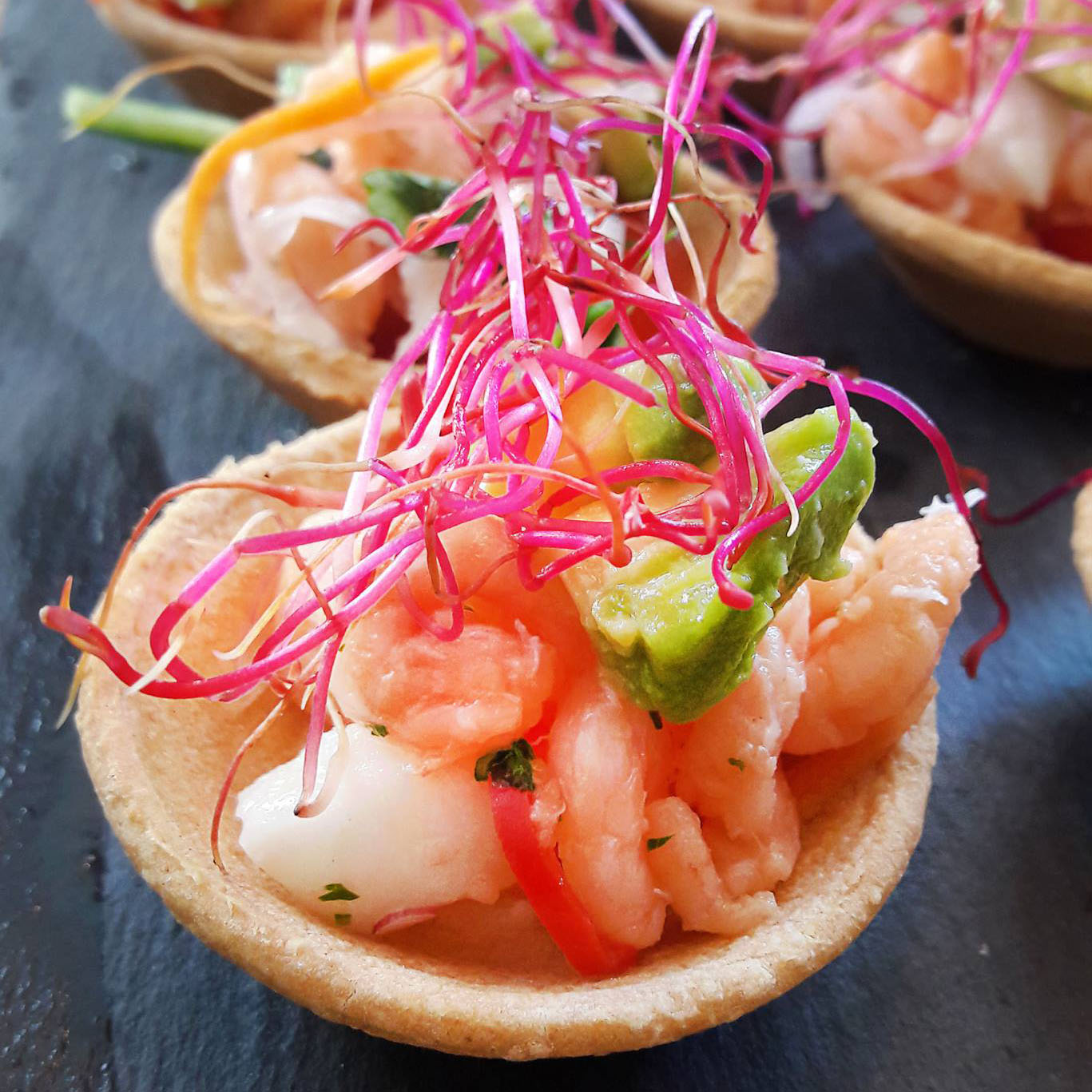 ceviche-hapjes-lisaensophie-catering-denhaag